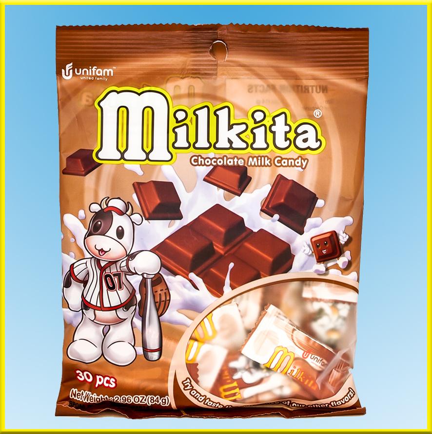 Kẹo sữa Milkita vị sôcôla – Gói 30 viên