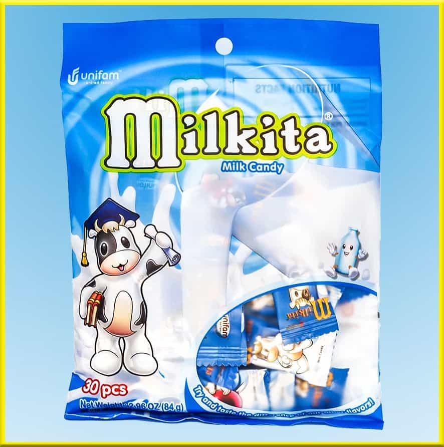 Kẹo sữa Milkita vị sữa - Gói 30 viên