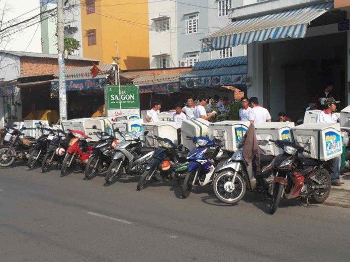Đội ngũ nhân viên sales Unifam Việt Nam