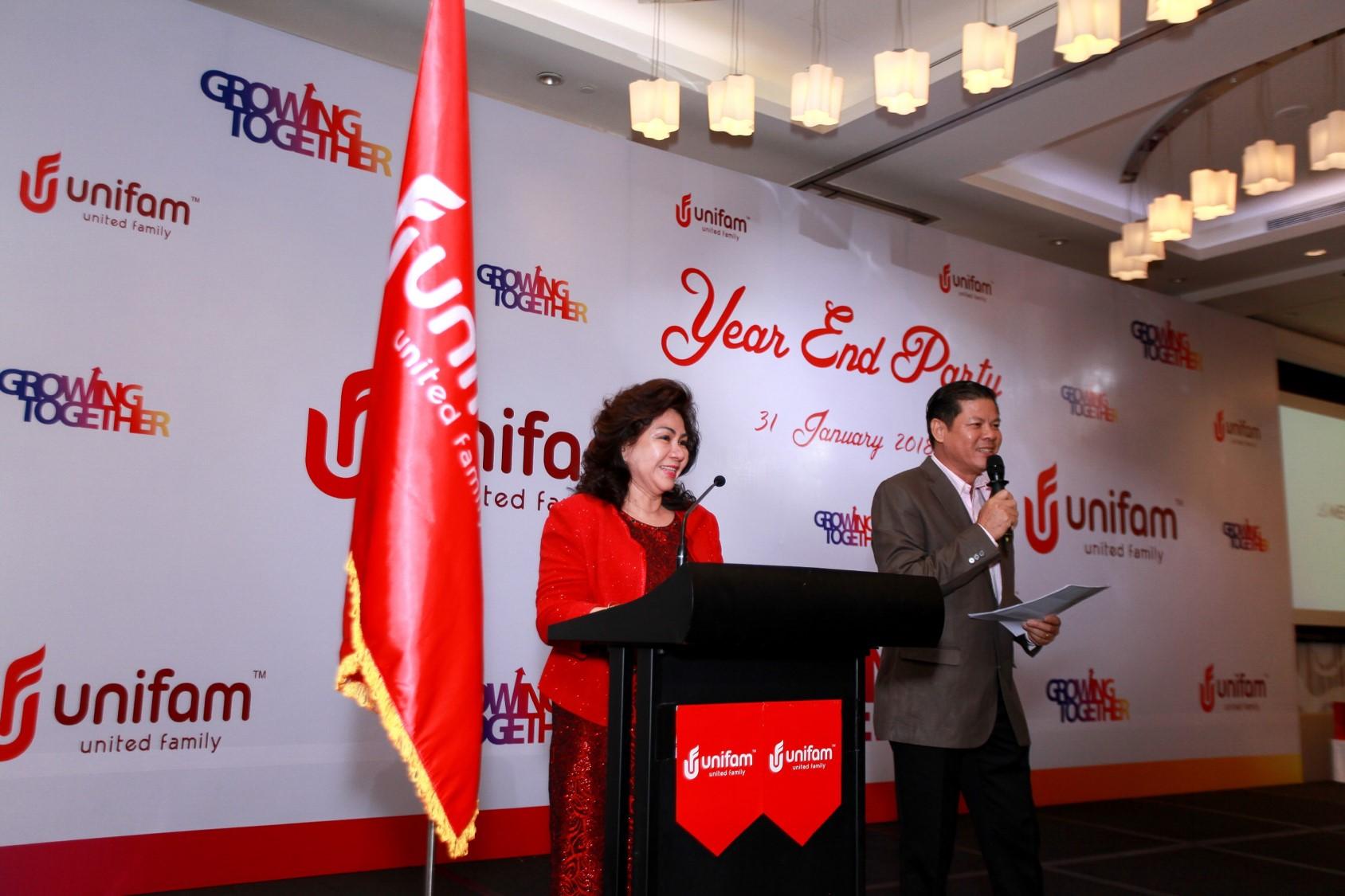 Tiệc tất niên Unifam Việt Nam cùng tập đoàn UFF INDO